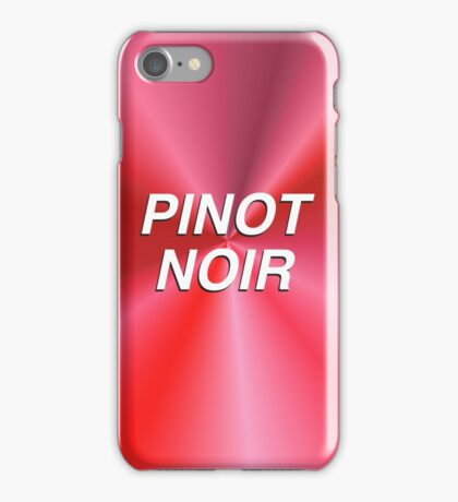 Pinot Noir iPhone Case/Skin