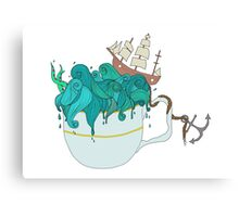 Storm in a teacup Canvas Print