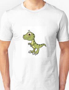 Cute illustration of a Tyrannosaurus Rex. Unisex T-Shirt