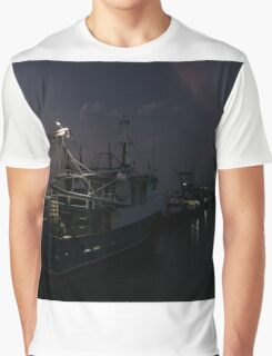 North Arm Fishing Boats Graphic T-Shirt