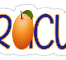 Syracuse University - Orange Sticker