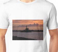 Tugging Along At Sunset Unisex T-Shirt