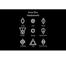 Thieves Guild Symbols/Know Your Symbols Photographic Print