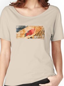 Chevy Rat Rod Badge Women's Relaxed Fit T-Shirt