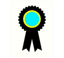 competitive ribbon Art Print