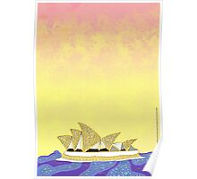 Sydney Opera House - An Aboriginal Take Poster