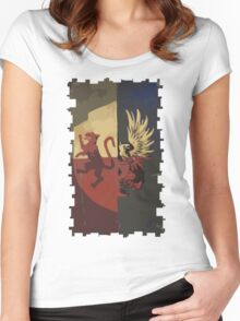 Hero of Fereldan Tarot Card Women's Fitted Scoop T-Shirt