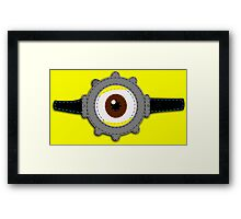Minion Goggles Patch Framed Print