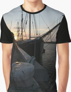 Falie at Sunset Graphic T-Shirt