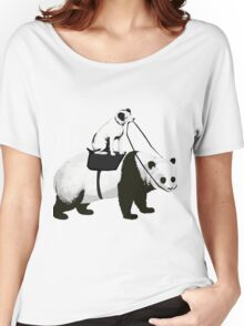 Funny Panda Express Women's Relaxed Fit T-Shirt