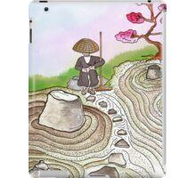 A Japanese Zen Garden iPad Case/Skin