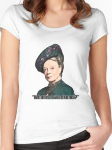 The Dowager Countess Women's Fitted Scoop T-Shirt