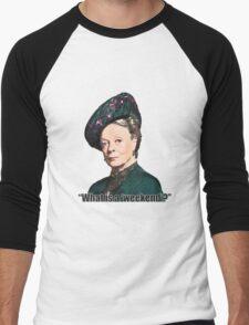 The Dowager Countess Men's Baseball ¾ T-Shirt