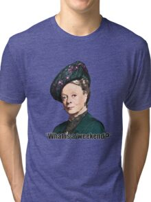 The Dowager Countess Tri-blend T-Shirt