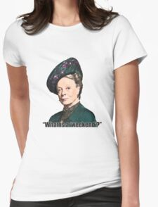 The Dowager Countess Womens Fitted T-Shirt