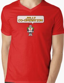 Solaire of Pixelstora Mens V-Neck T-Shirt