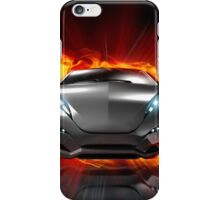 Font Fire iPhone Case/Skin
