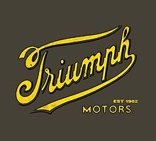 Triumph Motorcycles 1902 by vintageracer