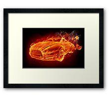 Fire in Fire Framed Print