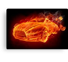 Fire in Fire Canvas Print