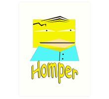 Homper Sinsonpe Art Print