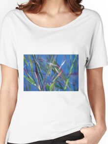Blue Lagoon - Abstract Women's Relaxed Fit T-Shirt