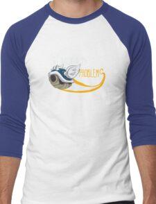 1st World Problems Orange Men's Baseball ¾ T-Shirt