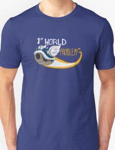 1st World Problems Orange T-Shirt