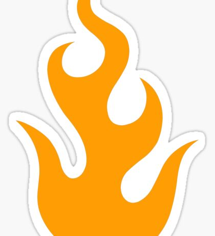 flame Sticker