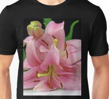 Two Lilies close up Unisex T-Shirt