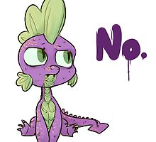 No, Spike. by InLucidReverie