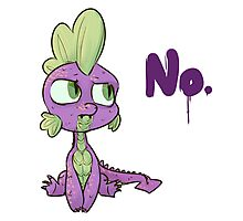 No, Spike. Photographic Print