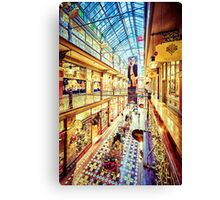 Antique Arcade (vg) Canvas Print