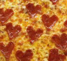 I HEART PIZZA Sticker