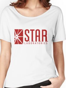 Star Labs Red Women's Relaxed Fit T-Shirt