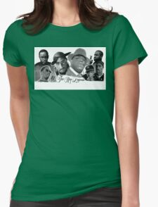 Rap Womens Fitted T-Shirt