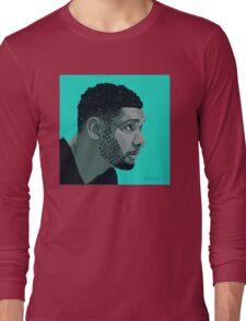 Tim Duncan Long Sleeve T-Shirt