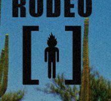 Travis Scott Rodeo Alternate Album Cover Sticker