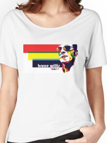 bruce willis wpap Women's Relaxed Fit T-Shirt