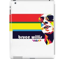 bruce willis wpap iPad Case/Skin