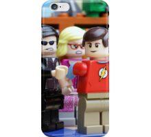 LEGO Big Bang Theory - Sheldon arrested iPhone Case/Skin
