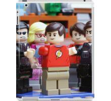 LEGO Big Bang Theory - Sheldon arrested iPad Case/Skin