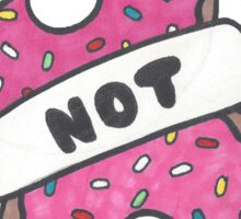 Riots Not Diets - Donuts Sticker