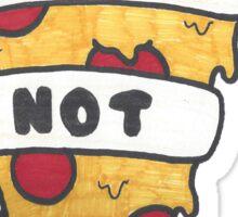 Riots Not Diets - Pizza Sticker