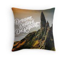 The Mountains Beckon Throw Pillow