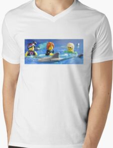Stay calm.  He will only eat one of us! T-Shirt