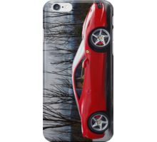 Ferrari 458 side iPhone Case/Skin