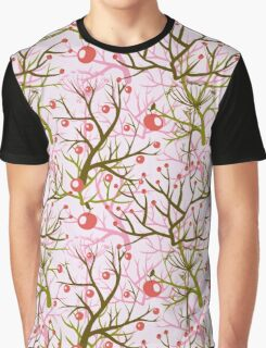 apples berries branch seamless ornament Graphic T-Shirt