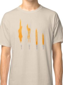 Flames of Science (Bunsen Burner Set) - Orange Classic T-Shirt
