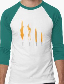 Flames of Science (Bunsen Burner Set) - Orange T-Shirt